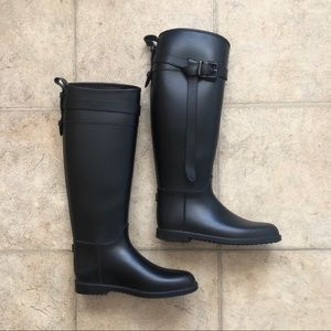 Gently used Burberry Rainboots